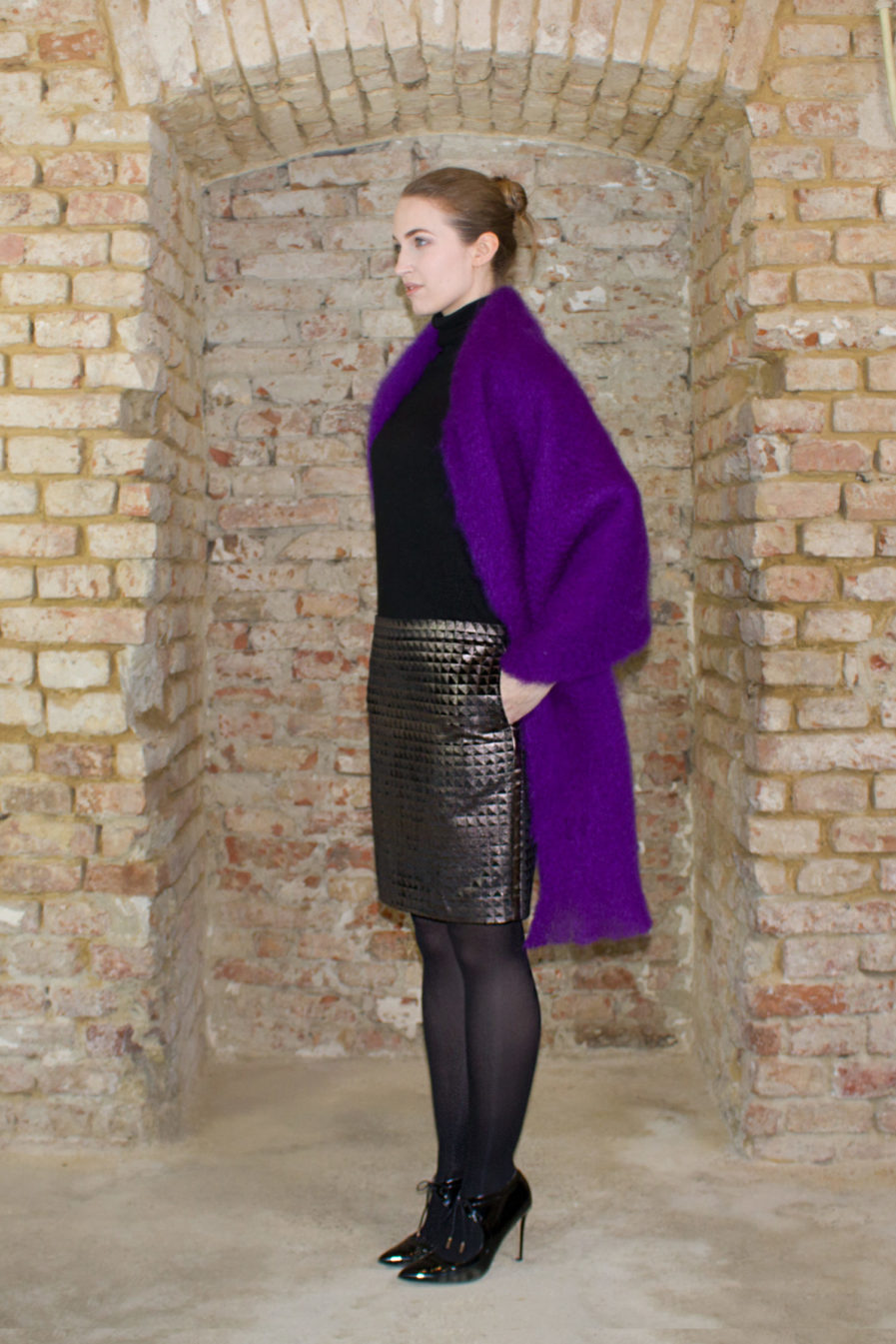 "Pencil skirt ""Moonlit"" FW18/19"