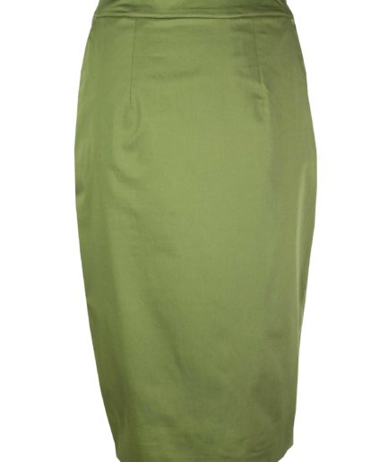 Bleistiftrock Grün