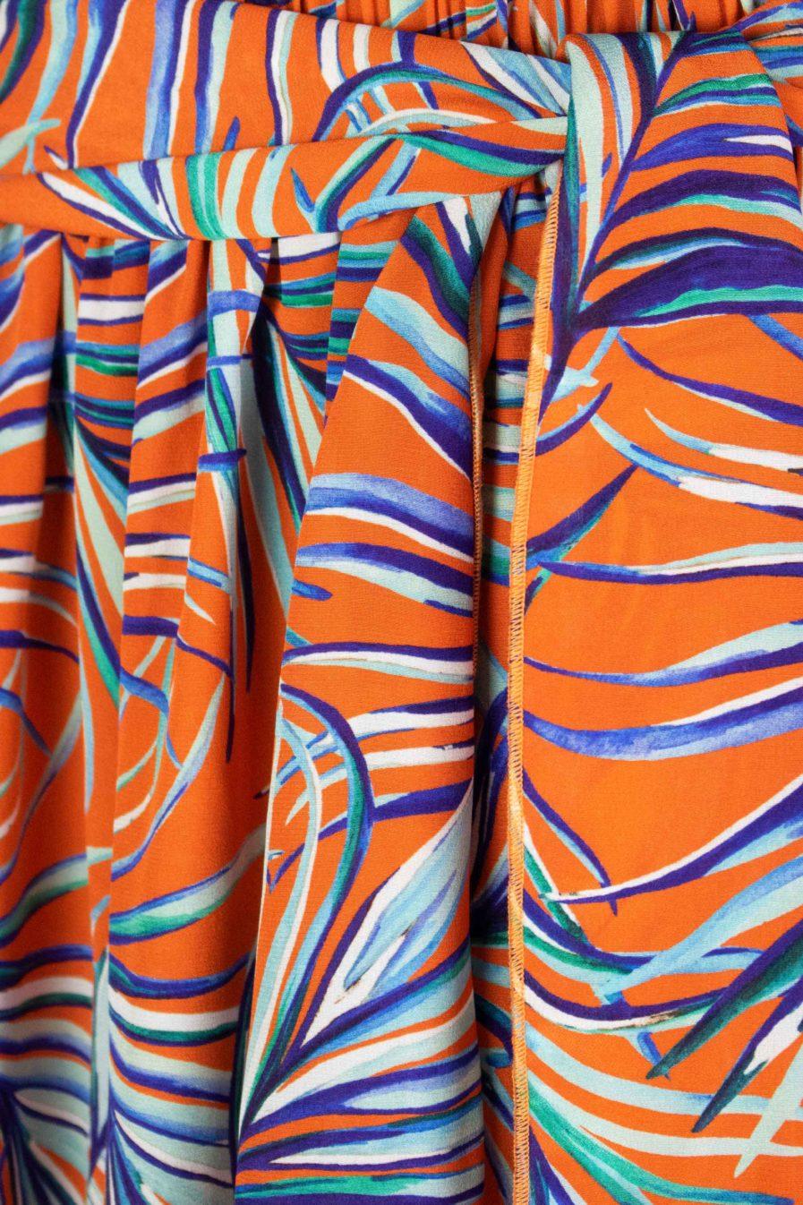 Disco Pants Orange Jungle