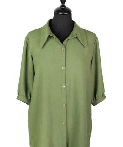 Hemdbluse Grün