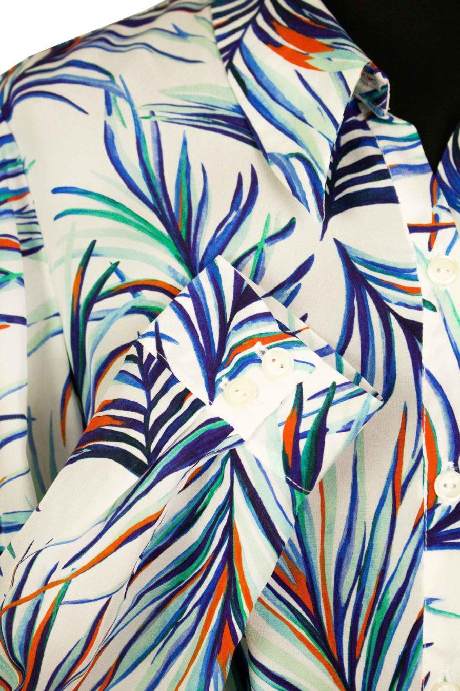 Hemdkleid White Jungle