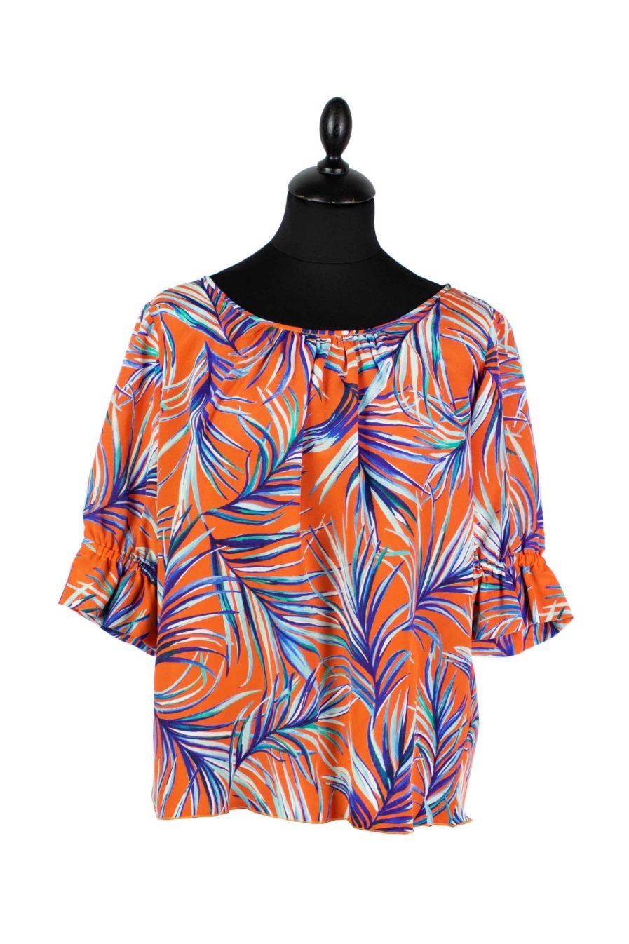Lounge Shirt Orange Jungle