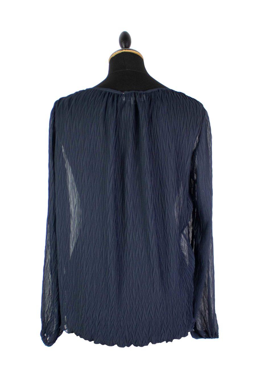 Lounge Shirt Plissee