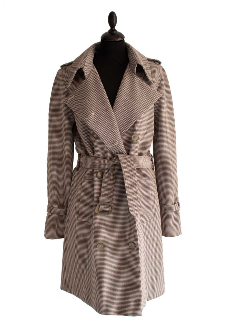 Trenchcoat Dots Beige