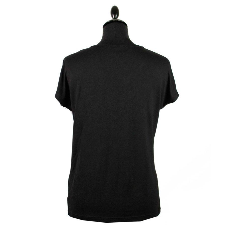 Moto T-shirt Jackalope Weiß-Schwarz