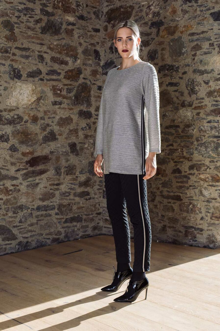 Long Pullover Jersey