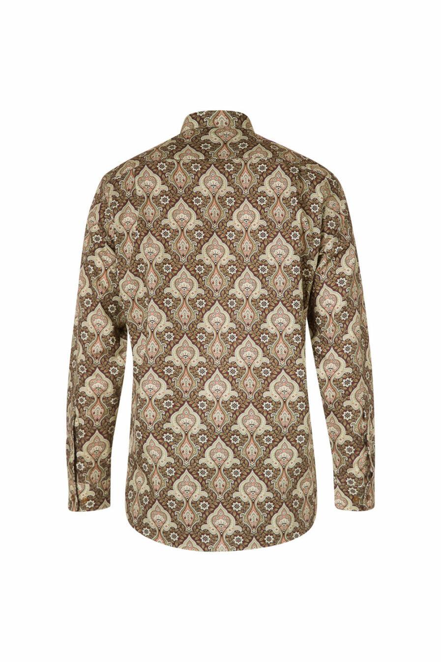 Herrenhemd Paisley